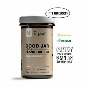Good Jar Peanut Butter - Fitness Authority 500 g Crunchy