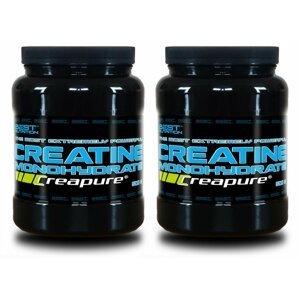 1+1 Zadarmo: Creatine Monohydrate Creapure od Best Nutrition 300 g + 300 g