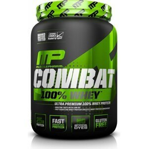 Combat 100% Whey Protein - Muscle Pharm 2270 g Strawberry