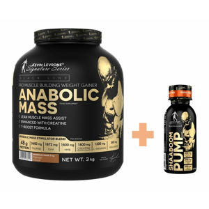 Anabolic Mass 3,0 kg - Kevin Levrone 3000 g Cookies with Cream