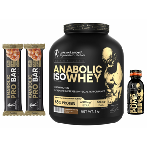 Anabolic Iso Whey - Kevin Levrone 2000 g Snikers