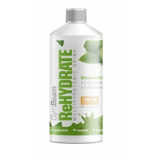 ReHydrate - GymBeam 1000 ml. Green Tea Lime