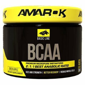 Basic Line BCAA - Amarok Nutrition 300 g Pineapple