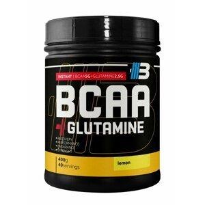 BCAA + Glutamine 2:1:1 - Body Nutrition  400 g Lemon