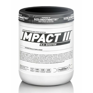 Impact N.O. Booster - Sizeandsymmetry  400 g Guave