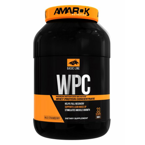 Basic Line WPC - Amarok Nutrition 1000 g White Chocolate Strawberry