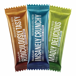 The Protein Bar - Bodylab 65 g Cookies+White Chocolate