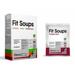 FitSoups - Kompava 9 x 35 g Mix s hrnčekom