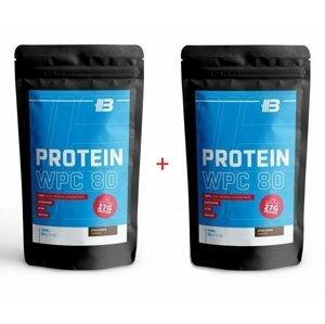 1+1 Zadarmo: Protein WPC 80 - Body Nutrition 1000 g + 1000 g Chocolate