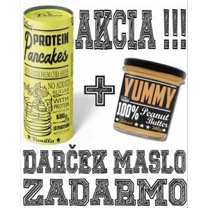 Protein Pancakes + Yummy Peanut Butter Zadarmo - FitBoom 600 g + 340 g Vanilla