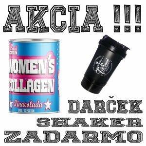 Akcia: Womens Collagen + Šejker Zadarmo - FitBoom 340 g Lemonade