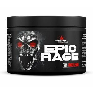 Epic Rage - Peak Performance 300 g Ginger Lemon