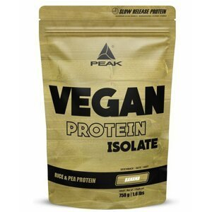 Vegan Protein Isolate - Peak Performance 750 g Banana