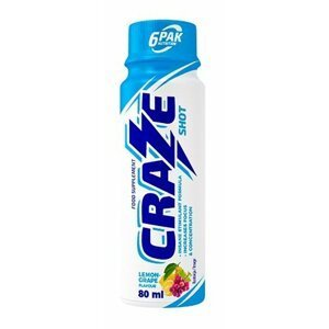 Craze Shot - 6PAK Nutrition 80 ml. Lemon Grape