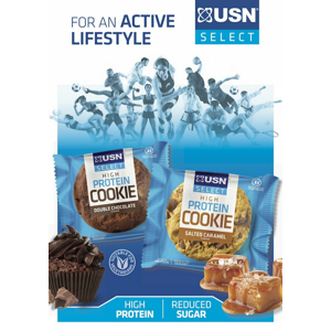 High Protein Cookie - USN 60 g Salted Caramel