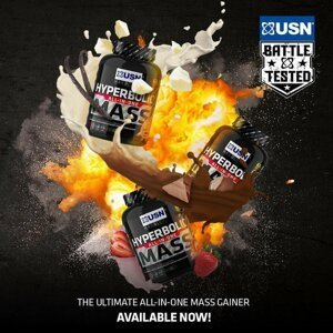 Hyperbolic All-In-One Mass - USN 6000 g Chocolate
