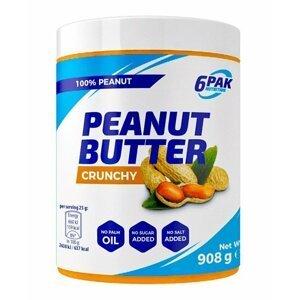 Peanut Butter - 6PAK Nutrition 908 g Crunchy