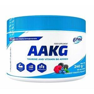 AAKG práškové - 6PAK Nutrition 240 g Forest Fruits