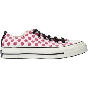 Obuv Converse Converse Chuck 70 OX Sneaker Damen Weiss Pink