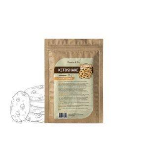 Protein&Co. Ketoshake vzorka – 30 g Príchut´: Biscuit cookie