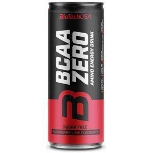 BIOTech USA BCAA Zero Energy Drink 330 ml Príchut´: raspberry-lime