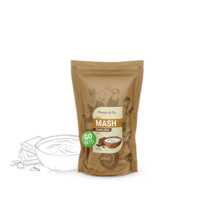 Protein&Co. Keto mash - proteínová diétna kaša Váha: 210 g, Príchut´: Biscuit