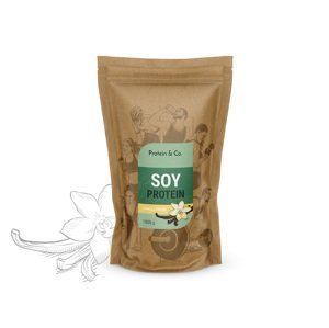 Protein&Co. Sójový proteín 1 kg Príchut´: Vanilla dream