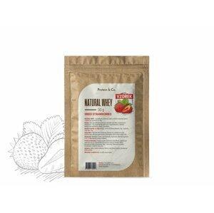 Protein&Co. NATURAL WHEY – 30 g Príchuť: Pure raspberry