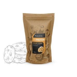 Protein&Co. Triprotein – 1 kg Príchut´: Chocolate brownie