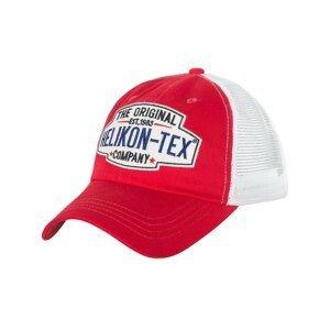 Kšiltovka Trucker Logo Helikon-Tex® - Red-White (Farba: Červená)