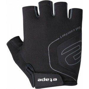 Etape AIR RUKAVICE čierna S - Pánske cyklistické rukavice