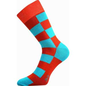 Boma PATTE 001 oranžová 35 - 38 - Unisex módne ponožky