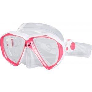 Finnsub CORAL JR MASK ružová NS - Juniorská potápačská maska