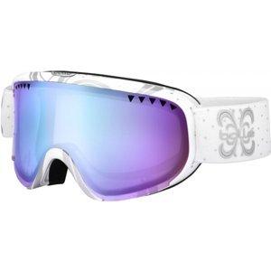 Bolle SCARLET WHITE NIGHT AURORA biela NS - Dámske zjazdové okuliare