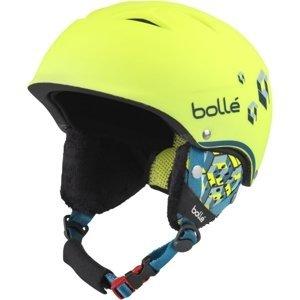 Bolle B-FREE žltá (49 - 52) - Detská lyžiarska prilba