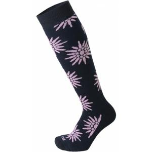 Mico KIDS PROTECTION fialová XL - Juniorské  lyžiarske ponožky