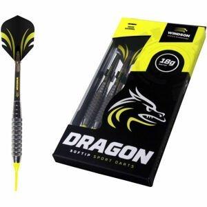 Windson DRAGON SET čierna NS - Šípky