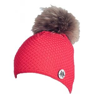 R-JET TOP FASHION ALPINKA červená UNI - Dámska pletená čiapka