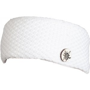 R-JET SPORT FASHION BASIC  ALPINKA biela UNI - Dámska pletená čelenka