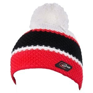 R-JET HRUBO PLETENÁ 3P červená UNI - Pánska pletená čiapka