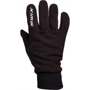 Swix ORION FLEECE M čierna 10 - Teplé zimné rukavice