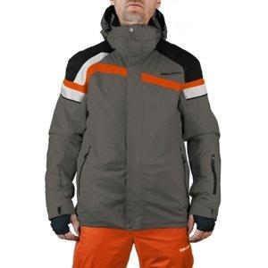 Diel DAVID tmavo šedá 58 - Pánska lyžiarska bunda