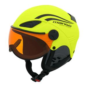 Mango ROCKY PRO žltá (53 - 55) - Detská lyžiarska prilba