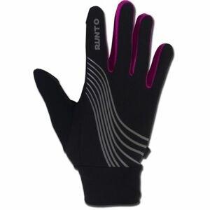 Runto WARRIOR ružová M/L - Bežecké rukavice