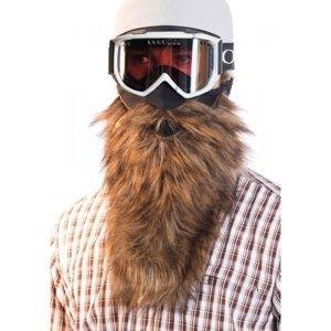 Beardski PROSPECTOR hnedá NS - Lyžiarska maska