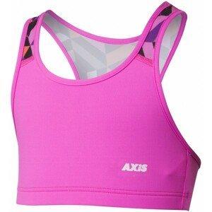 Axis FITNESS BRA ružová 140 - Dievčenská fitness podprsenka