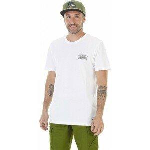 Picture PHILBROOK biela L - Pánske tričko s potlačou