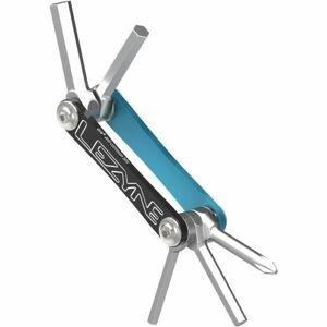 Lezyne MULTI V-5 modrá NS - Sada imbusových kľúčov