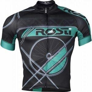 Rosti RUOTA DL ZIP čierna XL - Pánsky cyklistický dres