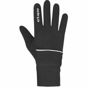Etape COVER WS+ čierna M/L - Športové zateplené rukavice